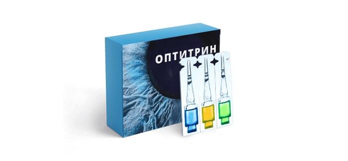 Оптитрин - краплі для відновлення зору