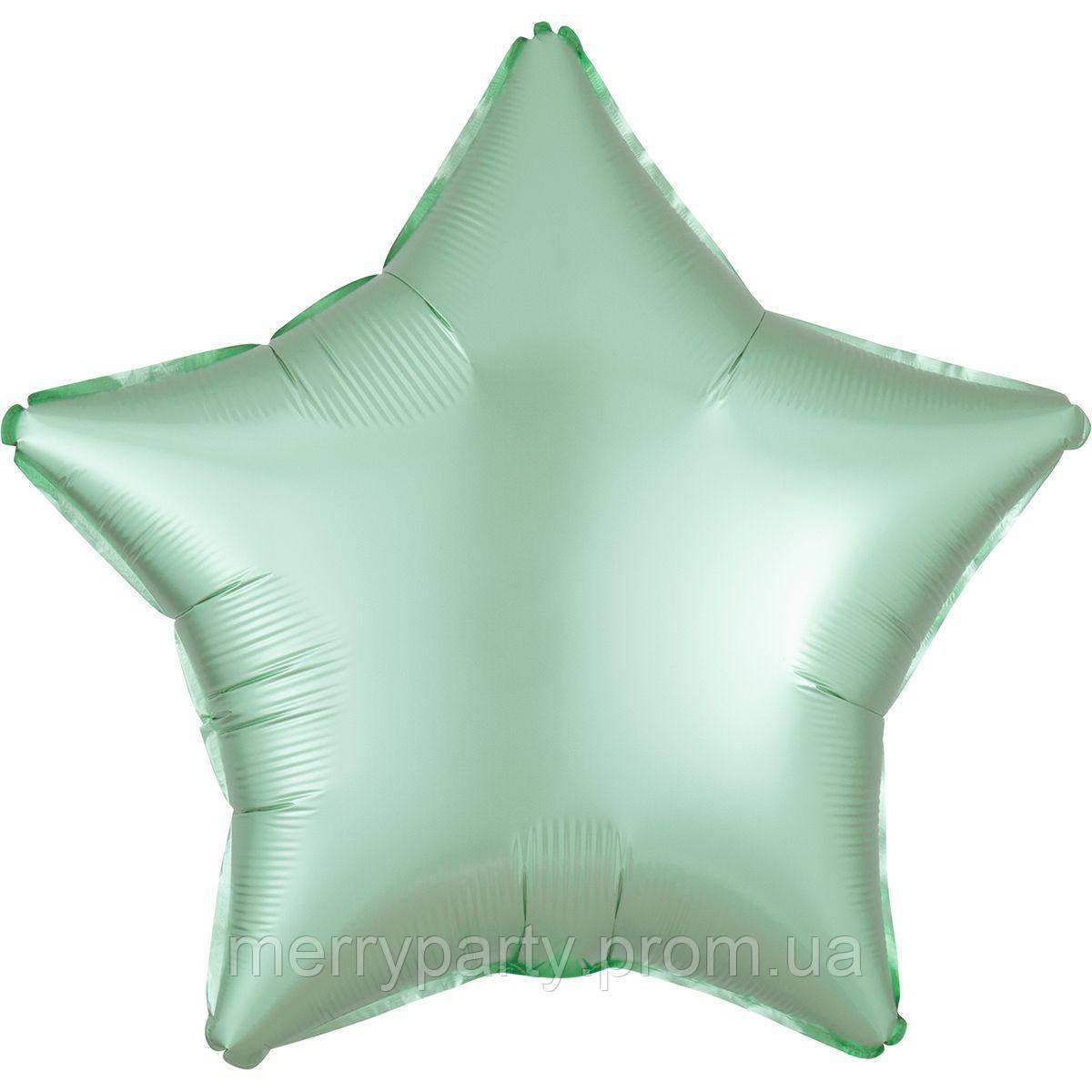 """18"""" (45 см) Звезда сатин мята Anagram США шар фольгированный"""