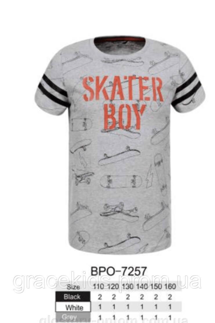 Дитячі футболки для хлопчиків Glo-story ,розм 110-160 см