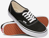 Кеды Vans Authentic Off the Wall черно-белые (низкие)