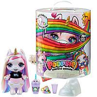 Большая игрушечная единорожка с золотым рогом Entertainment Poopsie Surprise Unicorn Magical Вторая волна