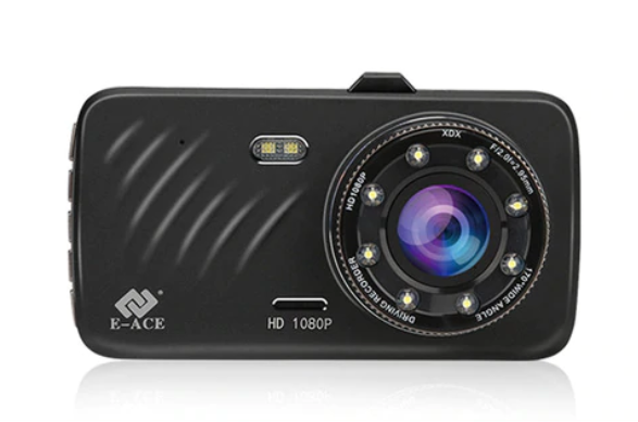 Видеорегистратор E-ACE Full HD 1080p + камера заднего вида