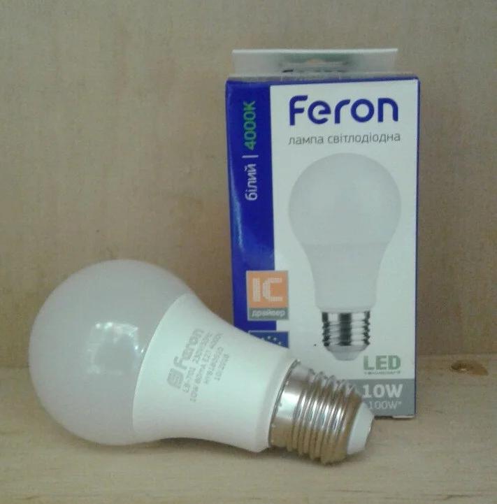 LED Светодиодная лампа 10W 4000K Feron LB-701 E27 гарантия 1 год