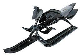 Снегоход «Спорт Люкс» black  Kidigo (65001)
