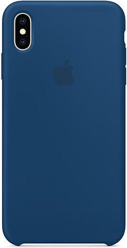 Чехол Apple Silicone Case - для iPhone X/XS Blue