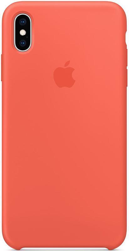 Чехол Apple Silicone Case - для iPhone X/XS Orange