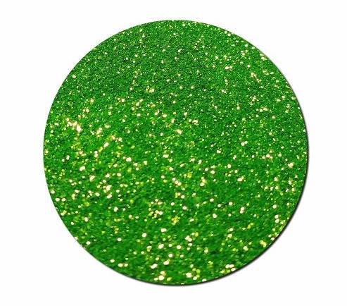 Гліттер сухий Зелений Салатовий, фото 2