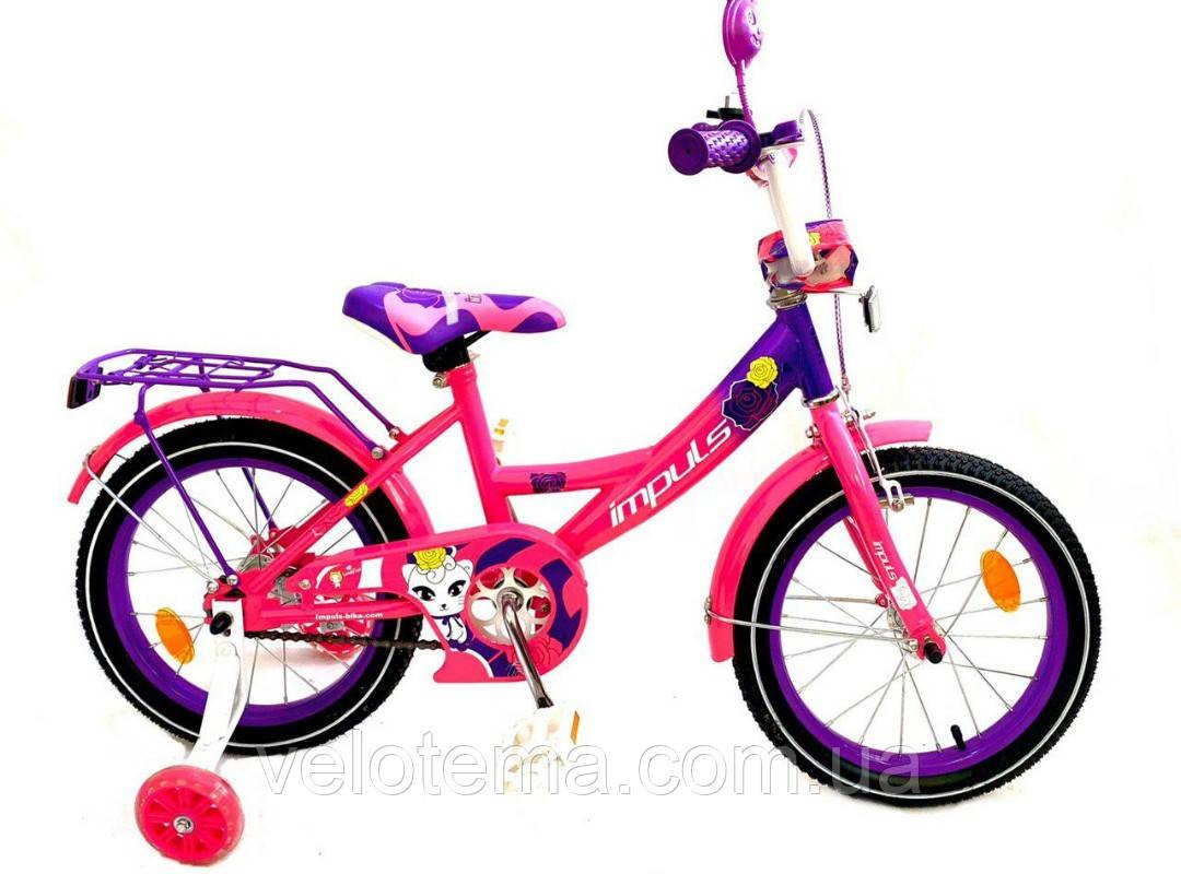Велосипед для девочки Impuls Kitty 16 дюймов