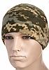 Зимова тактична шапка з товстого флісу колір камуфляж MM14 40004030
