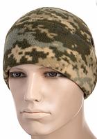 Зимова тактична шапка з товстого флісу колір камуфляж MM14 40004030, фото 1