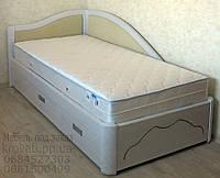 """Кровать в Мариуполе деревянная односпальная c ящиками """"Анна"""" kr.an4.1"""