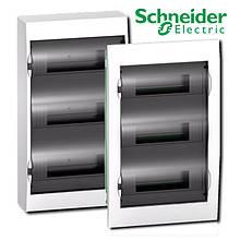 Schneider Electric Щит розподільчий білий двері прозора на 36 модулів IP40 Easy9