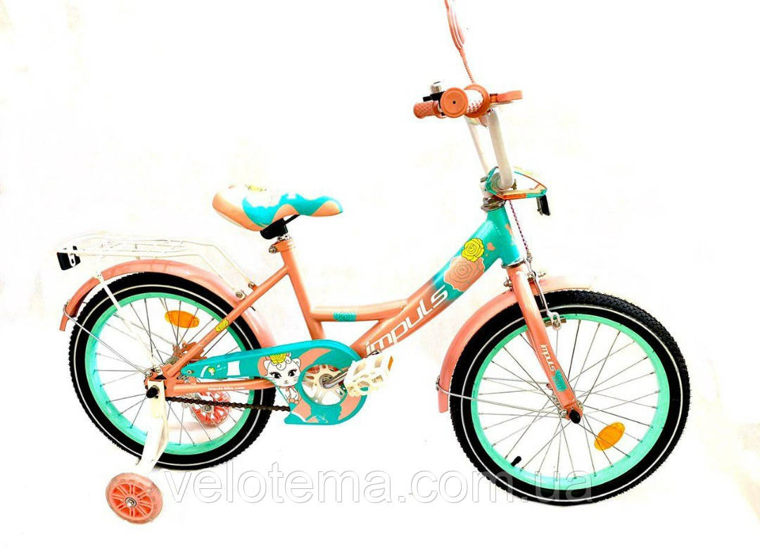 Велосипед 16 дюймов Impuls Kitty
