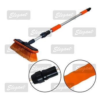 Щетка для мытья с телескопической ручкой Elegant 98-168 см EL 100132