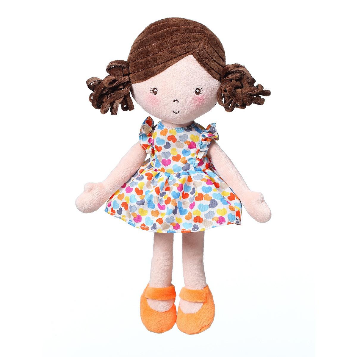 Кукла  игрушка-обнимашка LENA MY BEST FRIEND orange