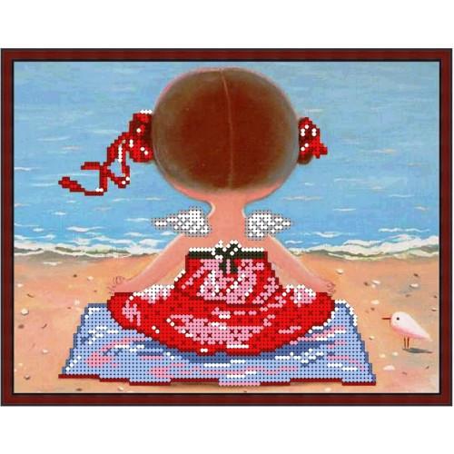 Вышивка бисером, Канва схемы картины Гапчинская Утренняя йога