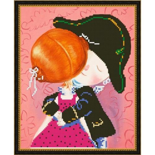 Вышивка бисером, Канва схемы картины Гапчинская Я тебя поймал
