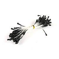 Тычинки матовые 2мм, черный