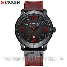 Мужские часы Curren 8327 Red-Black