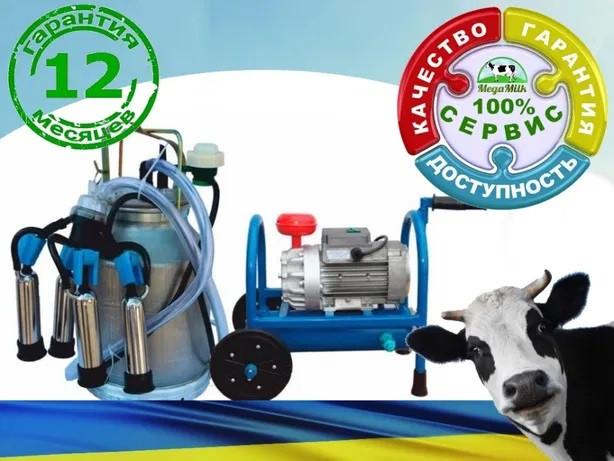 Доильный аппарат до 10 коров БУРЕНКА 1-Комби 1500 об/мин