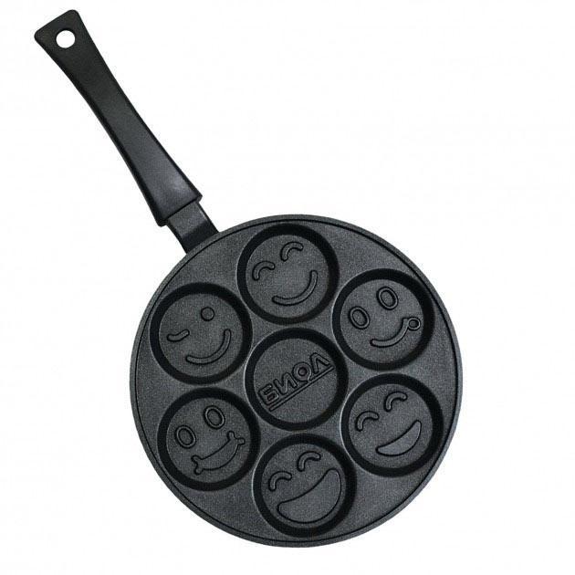 Сковорода оладница 24х1.9 см, БИОЛ СО-24П (52915)
