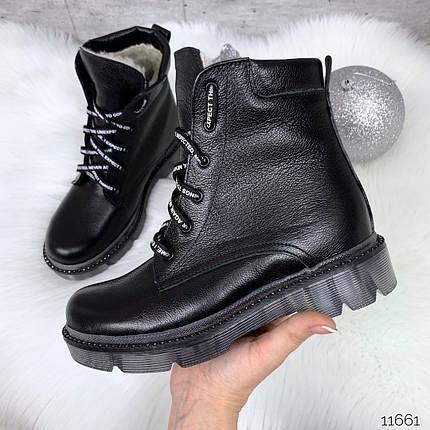 Стильные кожаные ботинки, фото 2