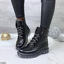 Стильные кожаные ботинки, фото 3