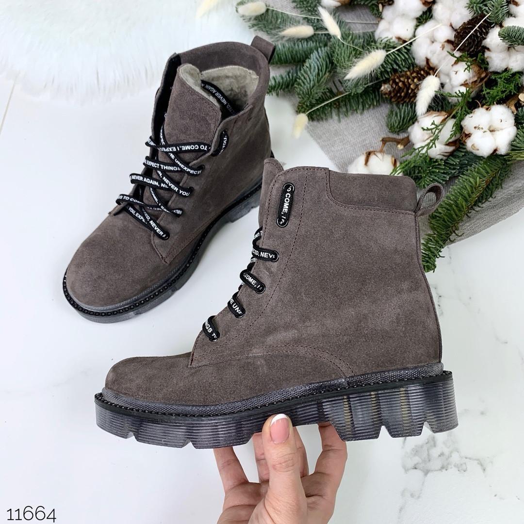 Лакированные туфли женские на шнурках