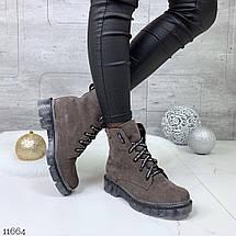 Лакированные туфли женские на шнурках, фото 3