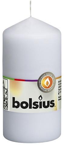 Свеча цилиндр белая bolsius 10 см (50/100-4019)