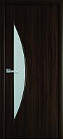 Двери межкомнатные Луна экошпон орех 3д, ольха 3д