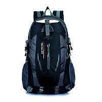 Рюкзак черный спортивный для путешествий и туризма