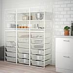 IKEA JONAXEL Стеллаж, 148x51x173 см (192.976.85), фото 5
