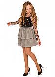 Праздничная искрящаяся юбка для девочки 134-152р, фото 2