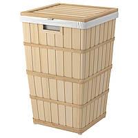 IKEA BRANKIS Корзина для белья, 50 л (903.400.38)