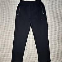 Спортивные штаны теплые мужские прямые   L/50