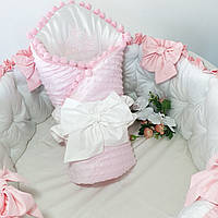 Бортики в кроватку + конверт