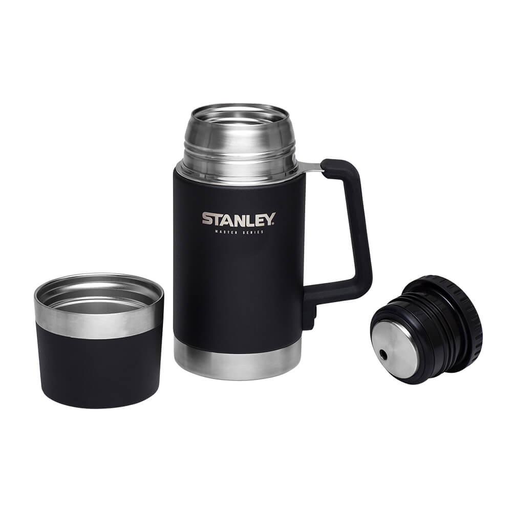 Термос пищевой Stanley Master Foundry Black 0.7 л