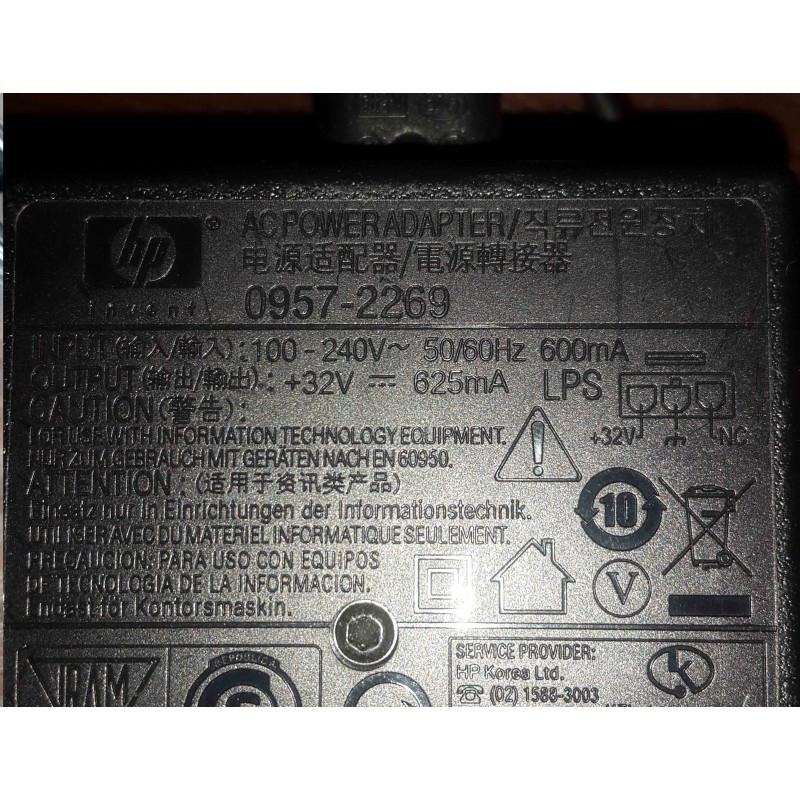 Блок питания для принтеров и мфу HP +32V 625mA   0957-2269 3