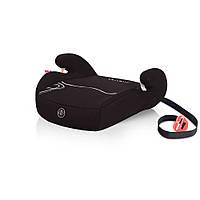Черное автокресло бустер Coto baby TAURUS  группы 2/3  для детей  15 - 36 кг