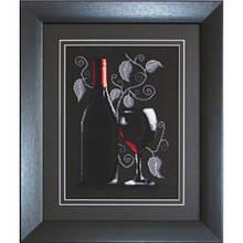 Наборы для вышивания крестом Luca S Бутылка с вином
