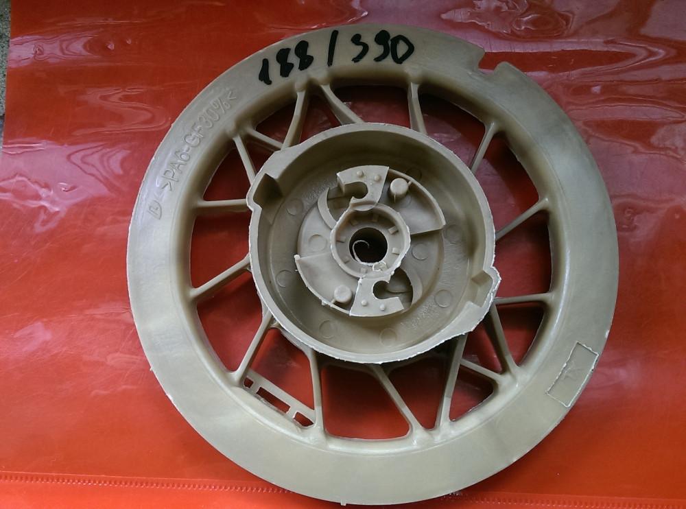 Honda GX 390/китайские аналоги 188 бензиновый двигатель Колесо,шкив,тарелка стартера 188
