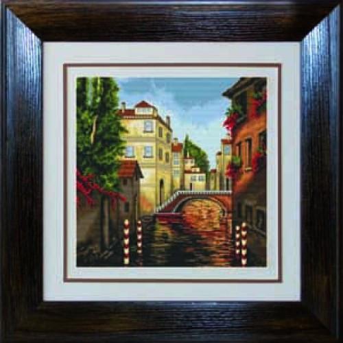 Наборы для вышивания крестом Luca S Пейзажи Венеция