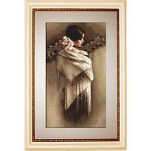 Набір для вишивання нитками Luca-S Класика Іспанка з хусткою