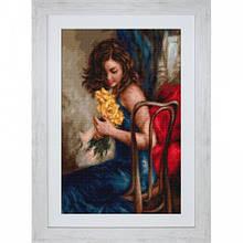 Наборы для вышивания крестом Luca S Желтые розы