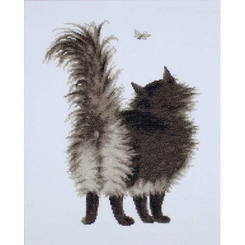 Набор для вышивания нитками Luca-S Животные Птицы Шушун