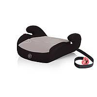 Серое автокресло бустер Coto baby TAURUS  группы 2/3  для детей  15 - 36 кг