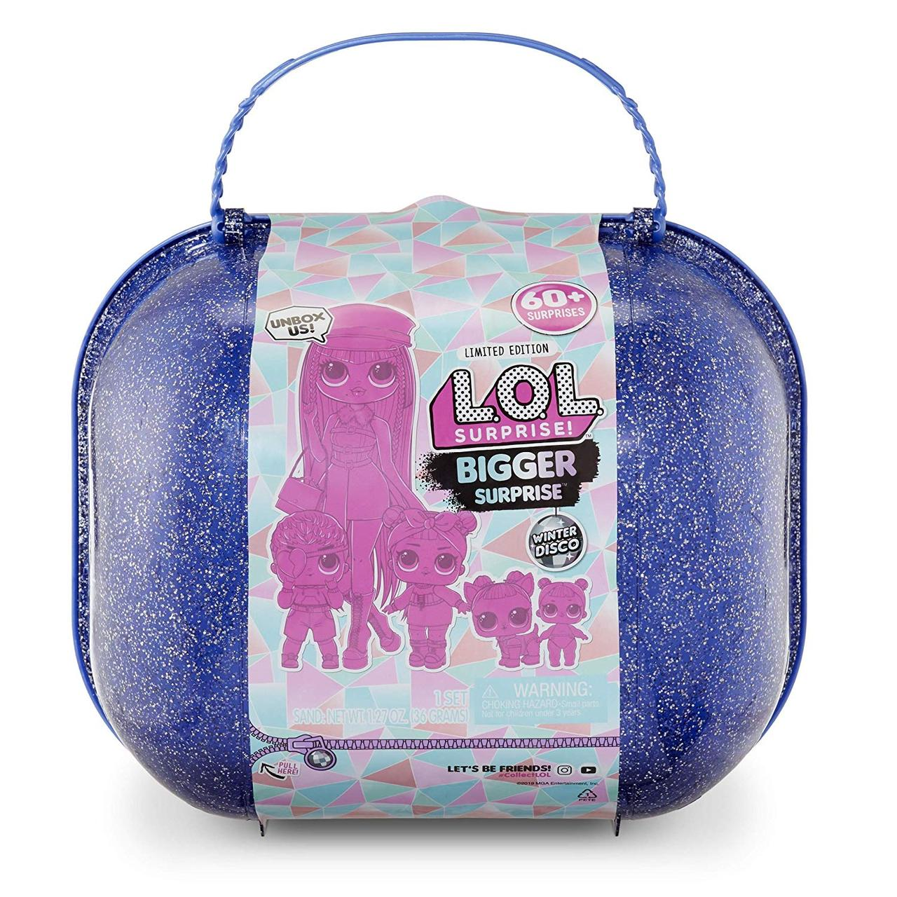 L. O. L. Surprise! S6 Зимовий диско валіза великий сюрприз Winter Disco Bigger Surprise O. M. G. Fashion