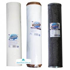 """Комплект Aquafilter """"Хлор + Железо"""" Big Blue 20"""