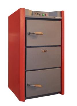 Котел пиролизный Roda Pirotech - 50М (механическая панель, надувной вентилятор)